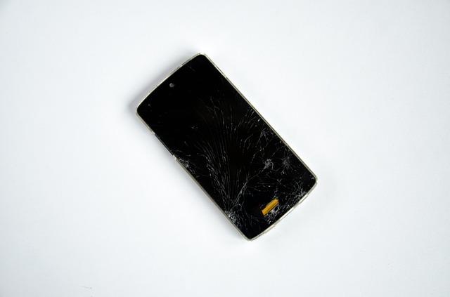 Smartphone broken